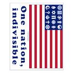 URA Flag #1 Small Poster