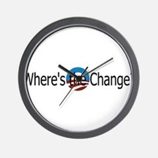 Where's the change? Wall Clock