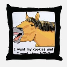 I want my Cookies! Throw Pillow