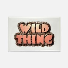 Wild Thing 1 Rectangle Magnet (100 pack)