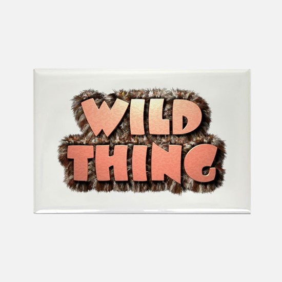 Wild Thing 1 Rectangle Magnet