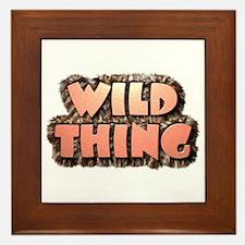 Wild Thing 1 Framed Tile