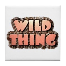Wild Thing 1 Tile Coaster