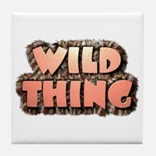 Wild Thing 1 Tile Coaster