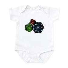 20-sided Dice Infant Bodysuit