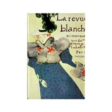 Toulouse-Lautrec Rectangle Magnet