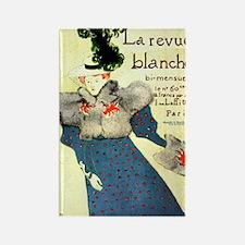 Toulouse-Lautrec Rectangle Magnet