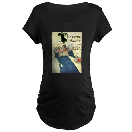 Toulouse-Lautrec Maternity Dark T-Shirt