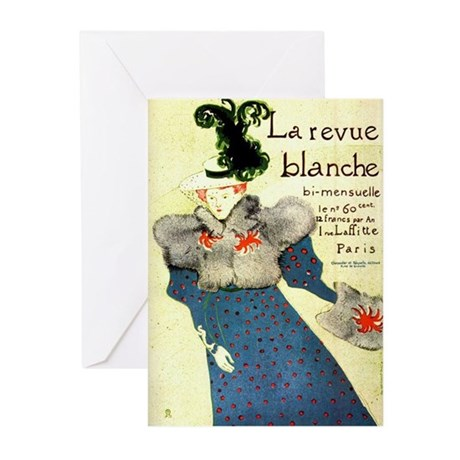 Toulouse-Lautrec Greeting Cards (Pk of 10)