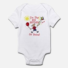 I'm The Big Brother of Twins Infant Bodysuit