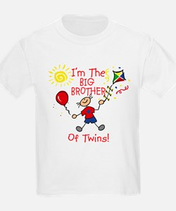 I'm The Big Brother of Twins T-Shirt