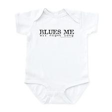 BLUES ME all night long Infant Bodysuit