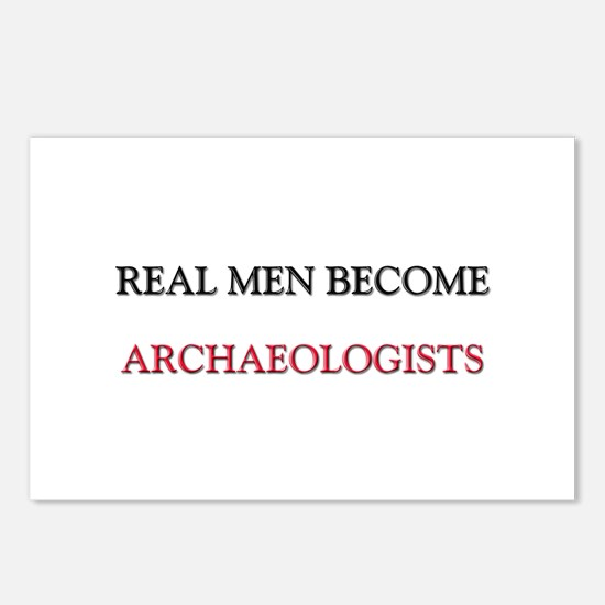 Real Men Become Archaeologists Postcards (Package