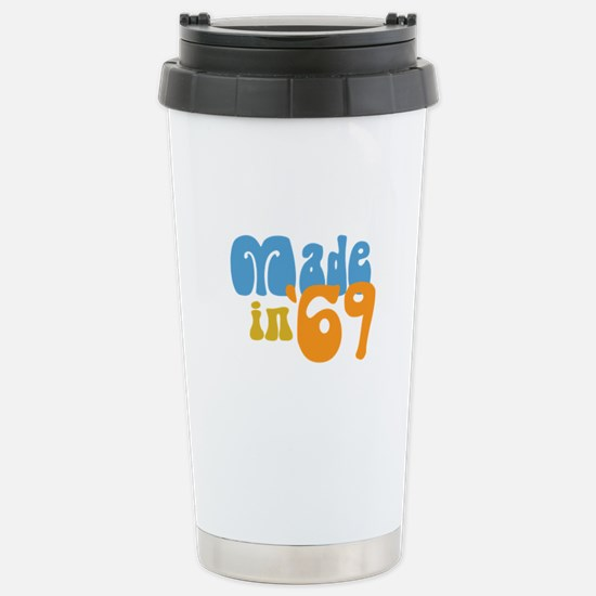 Made in 1969 (Retro) Stainless Steel Travel Mug