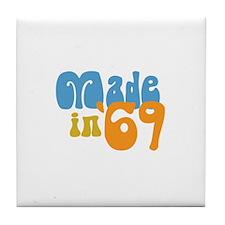 Made in 1969 (Retro) Tile Coaster