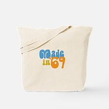 Made in 1969 (Retro) Tote Bag
