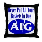 AIG Throw Pillow