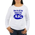 AIG Women's Long Sleeve T-Shirt