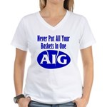 AIG Women's V-Neck T-Shirt