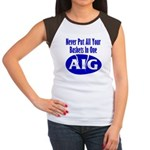 AIG Women's Cap Sleeve T-Shirt