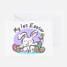 My 1st Easter Bunny Greeting Card