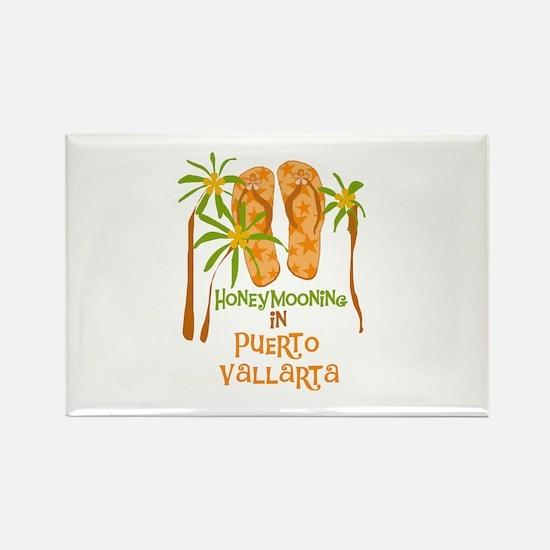 Honeymoon Puerto Vallarta Rectangle Magnet