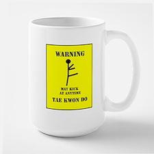 Tae Kwon Do Warning Mug