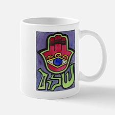 HAMSA SHALOM #1 Mug for LEFTIES