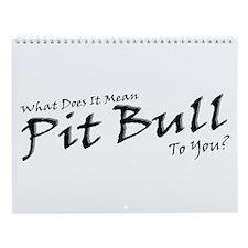 2006 No Pit Just Bull Wall Calendar