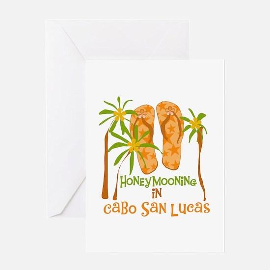 Honeymoon Cabo San Lucas Greeting Card