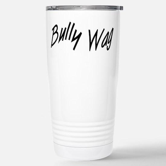 BullyWag Black Stainless Steel Travel Mug