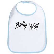 BullyWag Black Bib