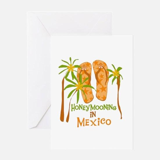 Honeymoon Mexico Greeting Card