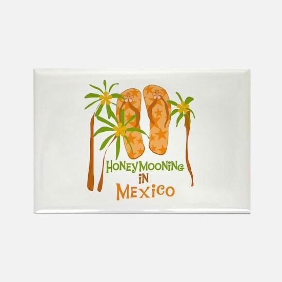 Honeymoon Mexico Rectangle Magnet
