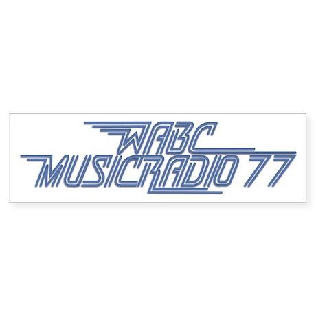 WABC New York 1978 - Bumper Sticker