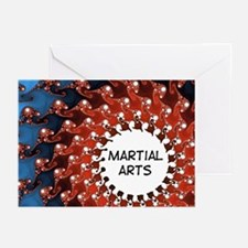 Martial Arts Sun Greeting Cards (Pk of 10)