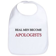 Real Men Become Apologists Bib