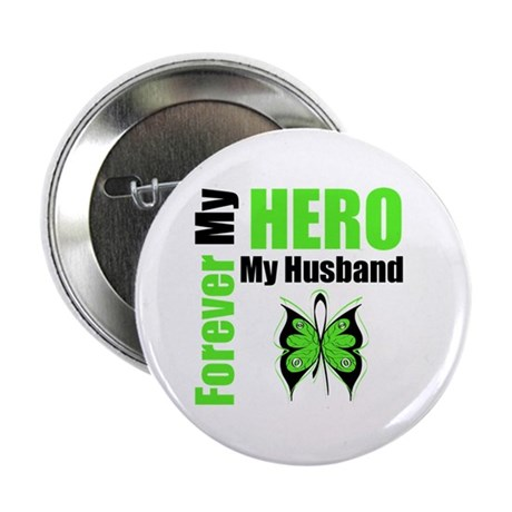 "Lymphoma Hero Husband 2.25"" Button"