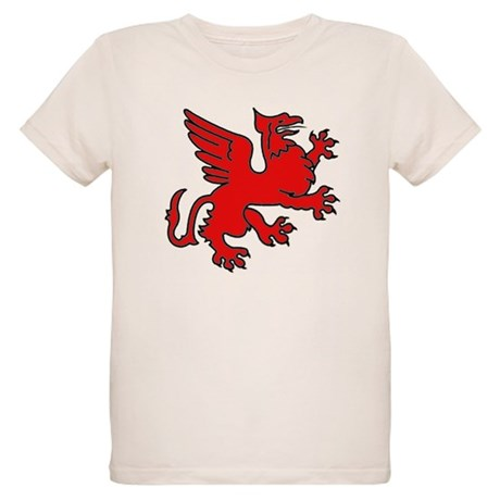 Red Griffin Organic Kids T-Shirt