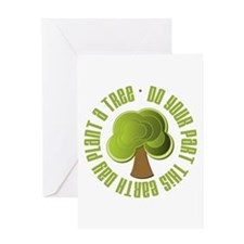 Plant a Tree Earth Day Greeting Card