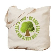 Plant a Tree Earth Day Tote Bag