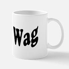 BullyWag Black Wave Mug