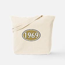 1969 Oval Tote Bag