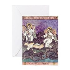He is not Here - He is Risen! Greeting Card