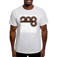 RADIO LUXEMBOURG 1970s - Ash Grey T-Shirt