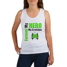 Lymphoma Hero Grandpa Women's Tank Top