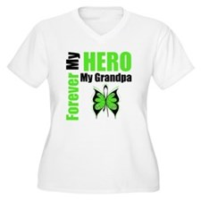 Lymphoma Hero Grandpa T-Shirt