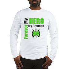 Lymphoma Hero Grandpa Long Sleeve T-Shirt