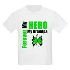 Lymphoma Hero Grandpa T-Shirt