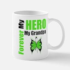 Lymphoma Hero Grandpa Mug